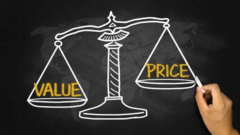 Объявление цены